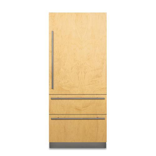 "Viking - 36"" Custom Panel Fully Integrated Bottom-Freezer Refrigerator - FBI7360W"