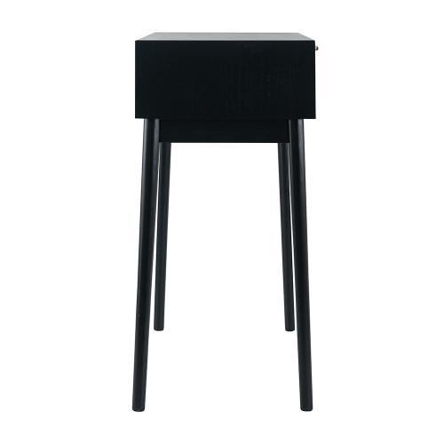 A & B Home - Console Table,Black
