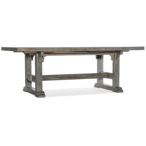 Beaumont 84in Rectangular Dining Table w-2/22in Leaves