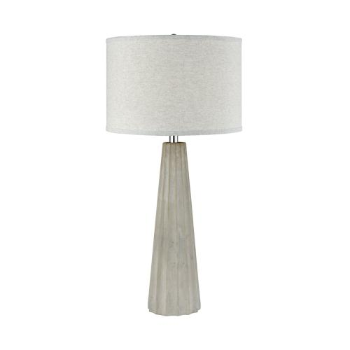 Stein World - Castlestone Table Lamp In Polished Concrete