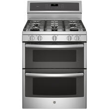 "GE Profile 30"" Gas Freestanding Convection Range Stainless Steel PCGB980ZEJSS"