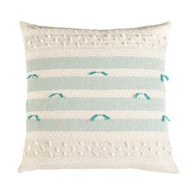 Billi Pillow - Beige / Teal
