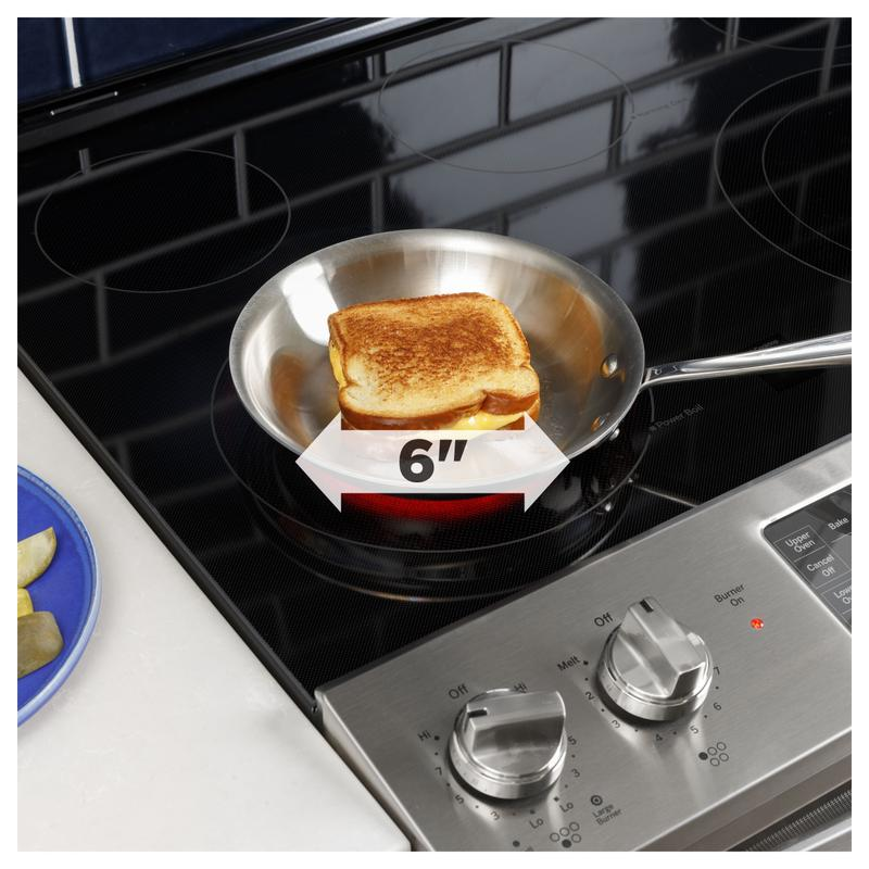 """GE® 30"""" Slide-In Electric Convection Double Oven Range"""