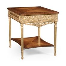 Louis XIV style rectangular side table