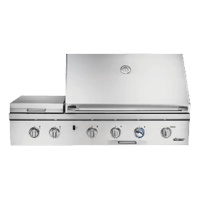 "52"" Outdoor Grill, Stainless Steel, Liquid Propane"
