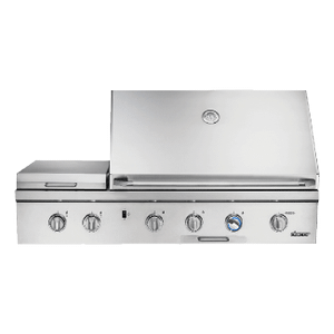 "Dacor52"" Outdoor Grill, Stainless Steel, Liquid Propane"