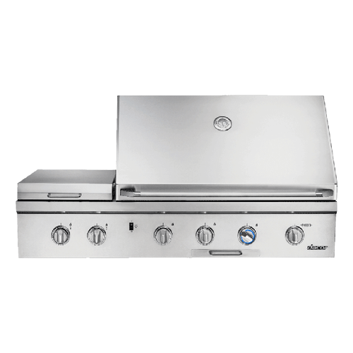 """52"""" Outdoor Grill, Stainless Steel, Liquid Propane"""