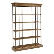 See Details - St. Lawrence Metal Bookcase