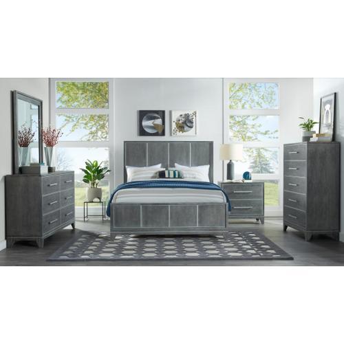 Memphis - Slate 6 Piece King Bedroom