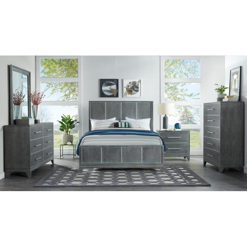 View Product - Memphis - Slate 6 Piece King Bedroom