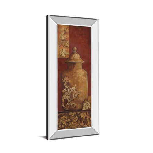 """Asian Nuvo II"" By Angela Ferrante Print in Mirrored Framed Print Wall Art"