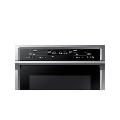 "30"" Smart Double Wall Oven with Steam Cook in Stainless Steel"