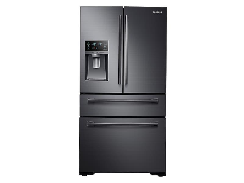 Samsung30 Cu. Ft. 4-Door French Door Refrigerator In Black Stainless Steel