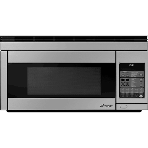 """30"""" Over-The-Range Microwave, Silver Stainless Steel"""