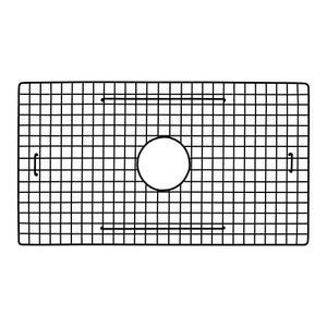 GR2614 Sink Bottom Grid, 25.75\u201d x 14.25\u201d in Matte Black Product Image