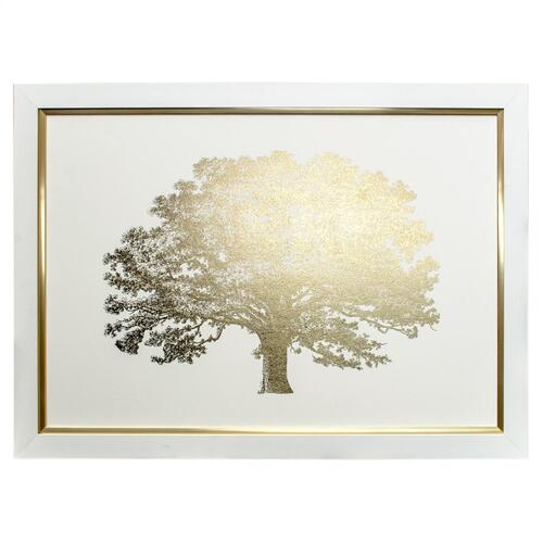 GOLD FOIL ELEPHANT TREE