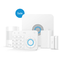 Alarm Security Kit, 5-Piece (for 1st Generation) - White: *Ring Alarm and the professional monitoring service are available and ship only within the U