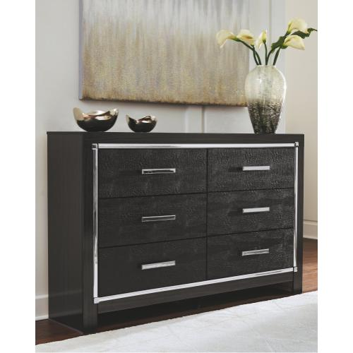 Queen/full Upholstered Panel Headboard With Dresser