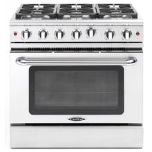 "Precision 36"" Gas Manual Clean Range"