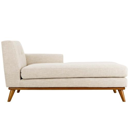 Modway - Engage Right-Facing Chaise in Beige
