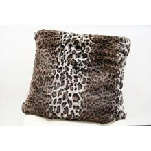 """See Details - Lepo Pillow Collection - 20"""" x 20"""" / Brown / 100% Polyester"""