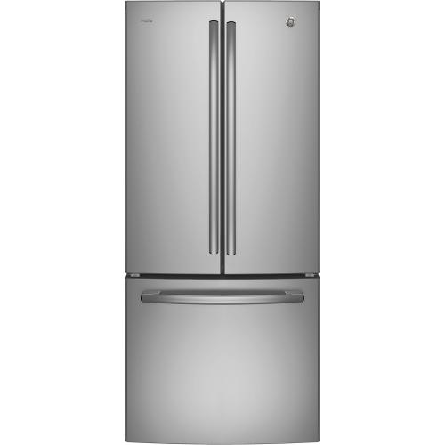 GE Profile 20.8 Cu. Ft. Energy Star French Door Refrigerator w/Factory Installed Icemaker Stainless Steel - PNE21NSLKSS