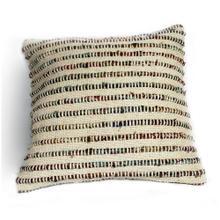 Chindi Cream and Multi-Colored Pillow