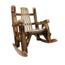 Amish 5 Slat Rocker-hickory/aspen