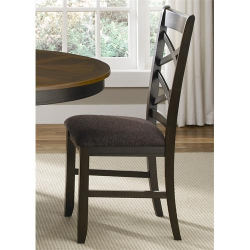 Liberty Furniture Industries - Double X Back Side Chair (RTA)