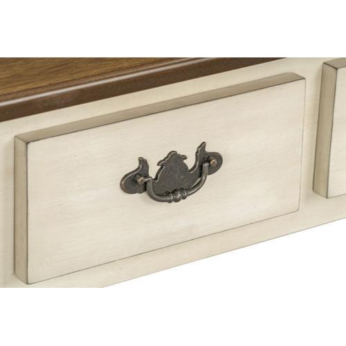 Standard Furniture - Camden Console Table, White