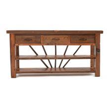Kingston 3 Drawer Sofa Table