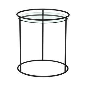 Orbit Round Lamp Table