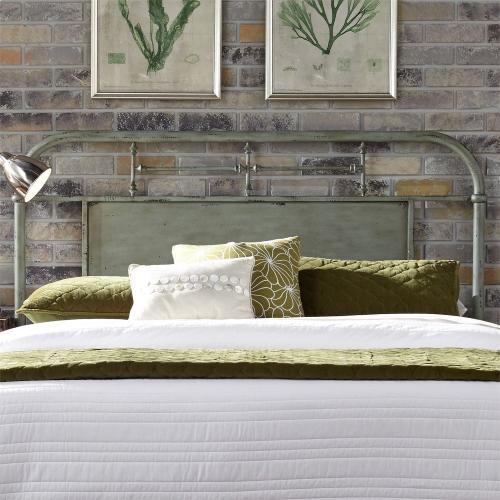 Liberty Furniture Industries - Queen Metal Bed - Green