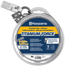 "Titanium Force Trimmer Line .105"" x 230'"