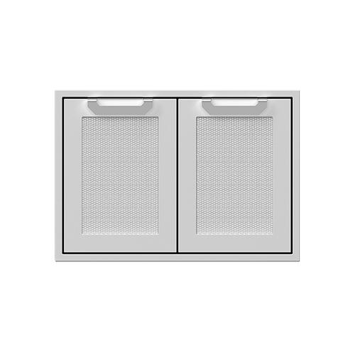 """Hestan - 30"""" Hestan Outdoor Double Storage Doors - AGSD Series - Bora-bora"""