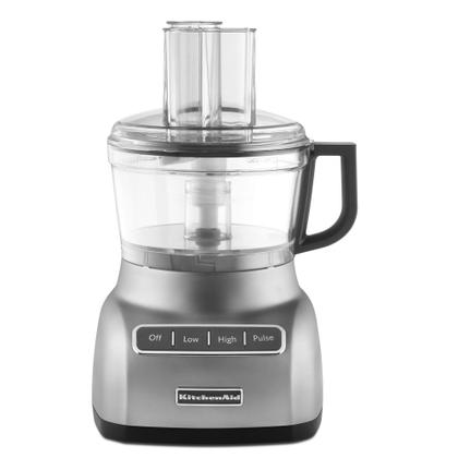 Refurbished 7-Cup Food Processor - Contour Silver