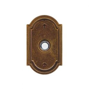 Ellis Doorbell Button Silicon Bronze Brushed Product Image