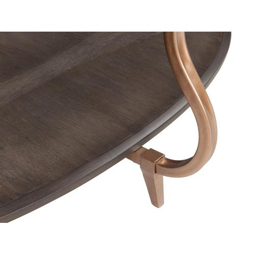 Magnussen Home - Oval Cocktail Table