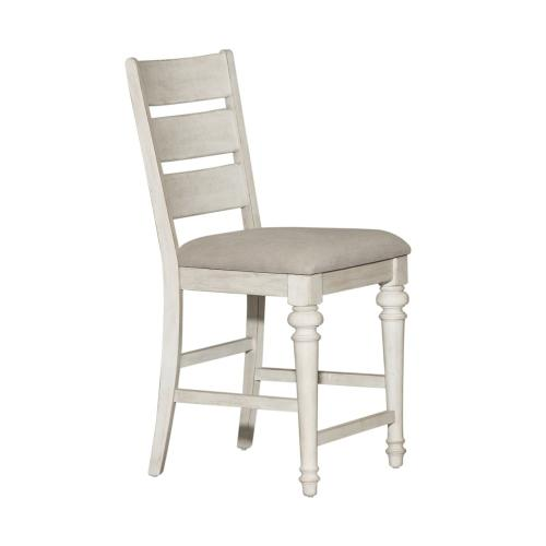 Ladder Back Counter Height Chair (RTA)