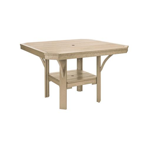 """Gallery - T35 45"""" SQUARE DINING TABLE"""