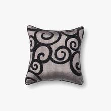 View Product - P0010 Grey / Black Pillow