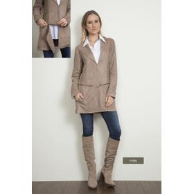 WB Convertible Zip Suede Jacket - Fern (2 pc. ppk.)