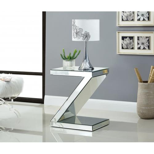 """Zee End Table - 19.5"""" W x 13.5"""" D x 23.5"""" H"""