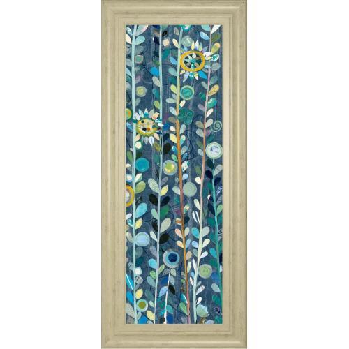 "Classy Art - ""Navy Blue Sky III"" By Candra Boggs Framed Print Wall Art"