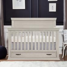 Langford 4-in-1 Convertible Crib in London Fog