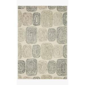 Gallery - MLO-01 Dk. Grey / Neutral Rug