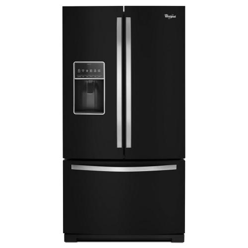 Whirlpool - 36-inch Wide French Door Bottom Freezer Refrigerator with StoreRight System - 27cu. ft.