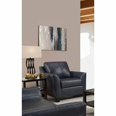 Leather Shale Chair