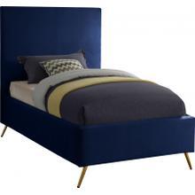 """Jasmine Velvet Bed - 44"""" W x 82"""" D x 52"""" H"""