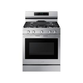 6.0 cu. ft. Smart Freestanding Gas Range with No-Preheat Air Fry, Convection+ & Stainless Cooktop in Stainless Steel